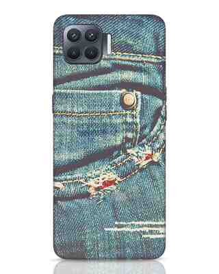 Shop Denims Oppo F17 Pro Mobile Cover-Front