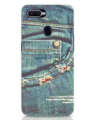Shop Denims Oppo F9 Pro Mobile Cover-Front