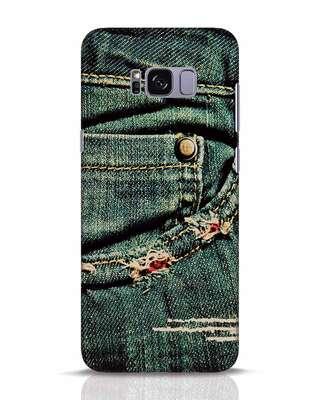 Shop Denims Samsung Galaxy S8 Plus Mobile Cover-Front