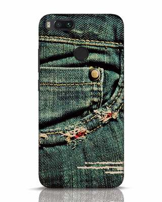 Shop Denims Xiaomi Mi A1 Mobile Cover-Front