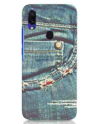 Shop Denims Xiaomi Redmi Y3 Mobile Cover-Front