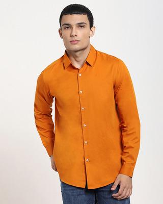 Shop Desert Sun Solid Full Sleeve Shirt-Front