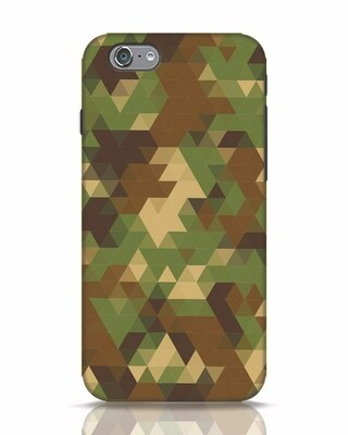 Shop Digital Camo iPhone 6s Mobile Cover-Front