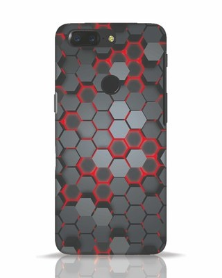 Shop Digital Honey Comb OnePlus 5T Mobile Cover-Front
