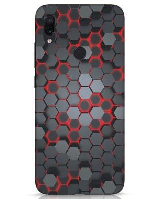 Shop Digital Honey Comb Xiaomi Redmi Note 7s Mobile Cover-Front