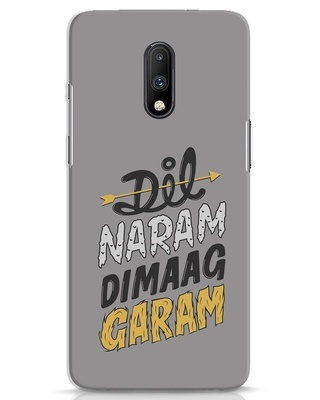 Shop Dimaag Garam OnePlus 7 Mobile Cover-Front