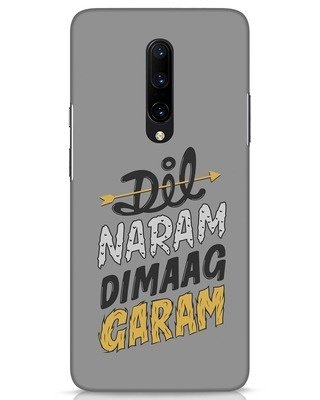 Shop Dimaag Garam OnePlus 7 Pro Mobile Cover-Front