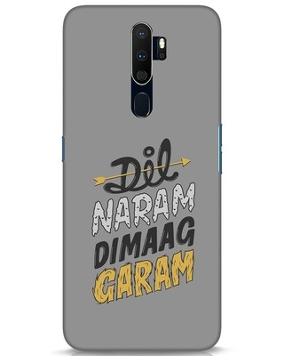Shop Dimaag Garam Oppo A9 2020 Mobile Cover-Front