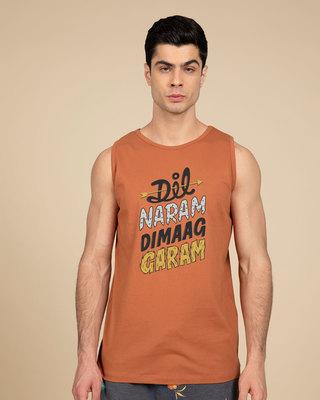 Shop Dimaag Garam Vest-Front