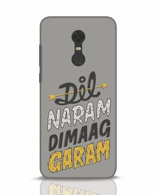 Shop Dimaag Garam Xiaomi Redmi Note 5 Mobile Cover-Front