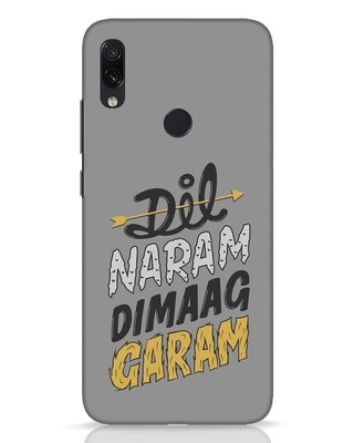Shop Dimaag Garam Xiaomi Redmi Note 7 Pro Mobile Cover-Front