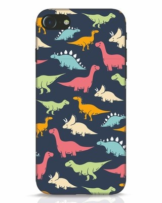 Shop Dinos iPhone 8 Mobile Cover-Front