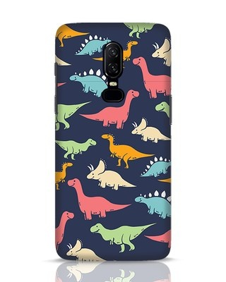 Shop Dinos OnePlus 6 Mobile Cover-Front