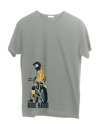 Shop Dirt Bike Half Sleeve T-Shirt-Front