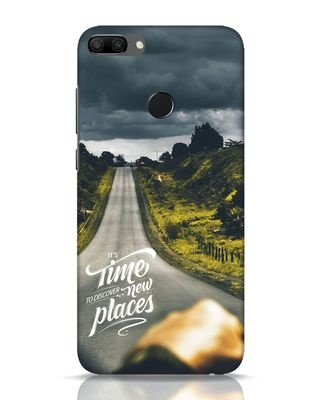 Shop Discover New Places Huawei Honor 9N Mobile Cover-Front