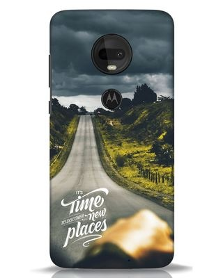 Shop Discover New Places Moto G7 Mobile Cover-Front