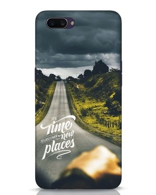 Shop Discover New Places Oppo A3S Mobile Cover-Front