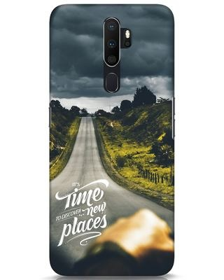 Shop Discover New Places Oppo A5 2020 Mobile Cover-Front