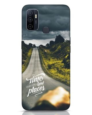 Shop Discover New Places Oppo A53 Mobile Cover-Front