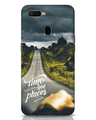 Shop Discover New Places Oppo A5s Mobile Cover-Front