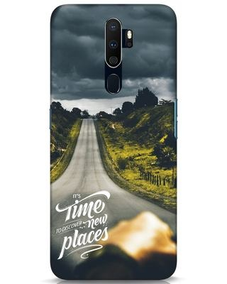 Shop Discover New Places Oppo A9 2020 Mobile Cover-Front