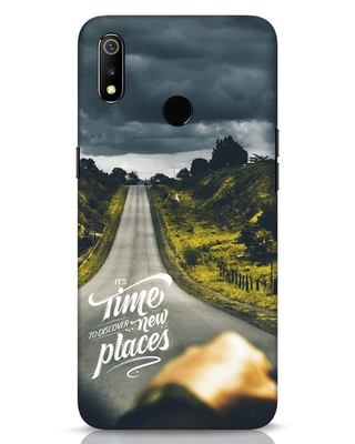 Shop Discover New Places Realme 3 Mobile Cover-Front