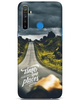 Shop Discover New Places Realme 5 Mobile Cover-Front