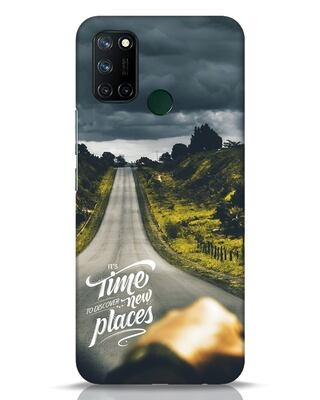 Shop Discover New Places Realme 7i Mobile Cover-Front