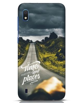 Shop Discover New Places Samsung Galaxy A10 Mobile Cover-Front