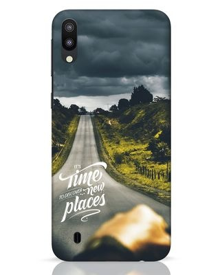 Shop Discover New Places Samsung Galaxy M10 Mobile Cover-Front