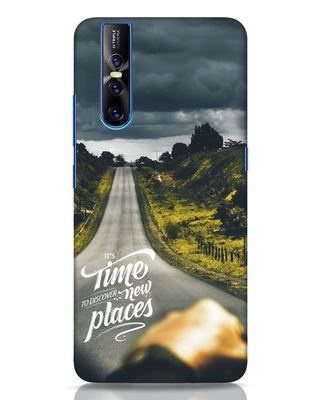 Shop Discover New Places Vivo V15 Pro Mobile Cover-Front