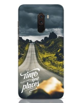 Shop Discover New Places Xiaomi POCO F1 Mobile Cover-Front