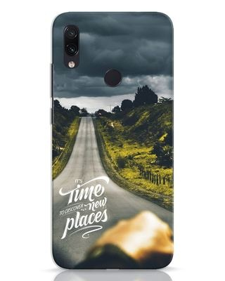 Shop Discover New Places Xiaomi Redmi Note 7 Mobile Cover-Front