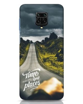 Shop Discover New Places Xiaomi Redmi Note 9 Pro Mobile Cover-Front