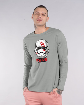 Shop Disobey Full Sleeve T-Shirt (SWL)-Front