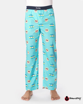 Shop Smugglerz Disposable Camera Pyjamas Blue-Front
