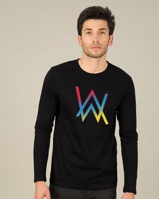 Shop Dj Aln Wkr Full Sleeve T-Shirt-Front