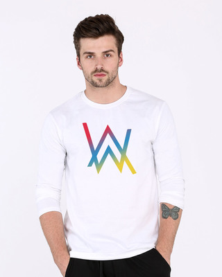 Shop Dj Aln Wkr Full Sleeve T-Shirt-Front