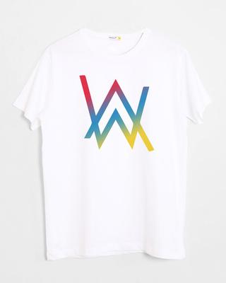 Shop Dj Aln Wkr Half Sleeve T-Shirt-Front