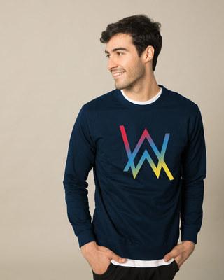 Shop Dj Aln Wkr Sweatshirt-Front