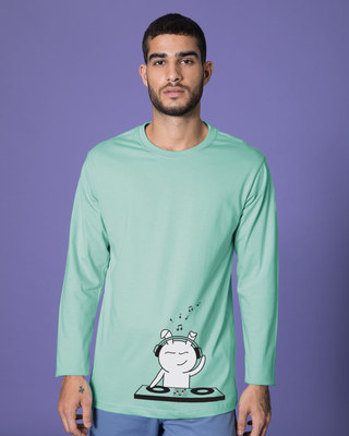 Shop Dj Bunny Full Sleeve T-Shirt-Front