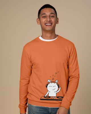 Shop Dj Bunny Sweatshirt-Front