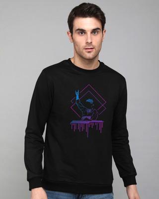 Shop Dj Dude Fleece Sweater-Front