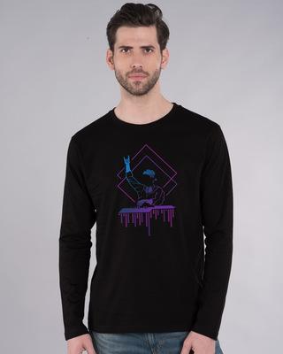 Shop Dj Dude Full Sleeve T-Shirt-Front