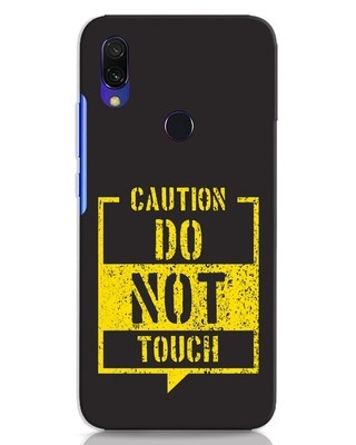 Shop Do Not Touch Xiaomi Redmi 7 Mobile Cover-Front