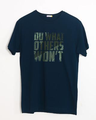 Buy Do What Half Sleeve T-Shirt Online India @ Bewakoof.com