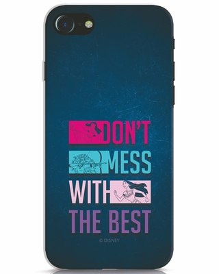 Shop Don't Mess With The Best iPhone 7 Mobile Cover (DL)-Front