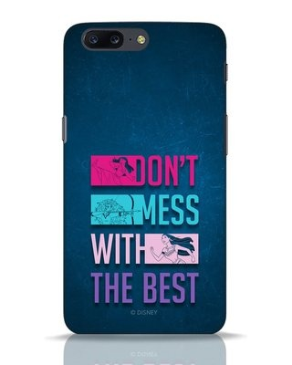 Shop Don't Mess With The Best OnePlus 5 Mobile Cover (DL)-Front