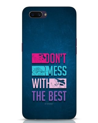 Shop Don't Mess With The Best Oppo A3S Mobile Cover (DL)-Front