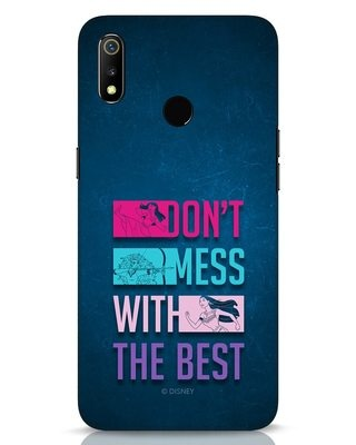 Shop Don't Mess With The Best Realme 3 Mobile Cover (DL)-Front